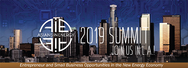 Logo for 2019 Asians in Energy Summit