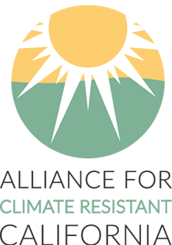 Alliance for Climate Resistant California logo